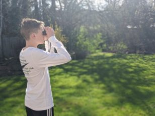 Backyard birding is a great way for kids of all ages to stay connected with nature while we are all staying home.
