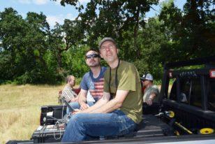 Matt and Intel Pilot Horseshoe Lake